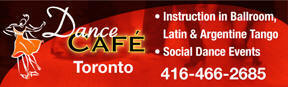 Dance Cafe, Dancing list, Latin, Ballroom, Singles, Couples, International